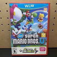 New Super Mario Bros. U + New Super Luigi U (Nintendo Wii U, 2015) Tested!