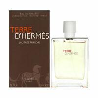 Hermes Terre d'Hermes Eau Tres Fraiche Edt Spray for Men 75ml NEU/OVP