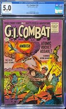 G.I. Combat #32, 5.0,Very Good / Fine, White Pages, 1956 Commie Atomic Attack