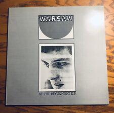 Warsaw (Joy Division) At The Beginning EP Vinyl LP - Punk Lives On - SGS-110
