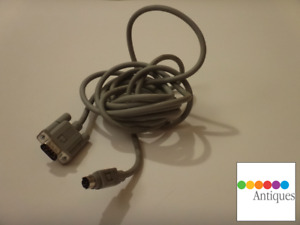 Apple Mac 128k 512k to ImageWriter II Printer Din-8 Serial Cable 590-0332-B RARE