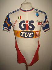 Gis gelati Tuc Lu vintage jersey shirt cycling maillot trikot maglia size L
