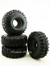 120mm OD crawler tire tyre set (4pcs) for 1.9 wheels 1/10 rc crawlers cars
