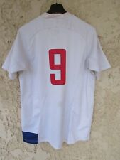 Maillot rugby QUINZE de FRANCE 2007 2008 2009 NIKE YACHVILI n°9 shirt vintage M