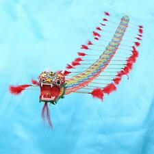 4m Chinese Traditional Dragon Kite Plastic Foldable Children Outdoors Toys  #k
