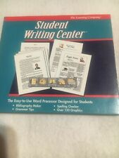 The Learning Company Student Writing Center Version 1.12