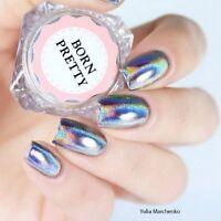 0.5g/Box Nail Art Glitter Holographics Laser  Powder Holo Chrome Pigment