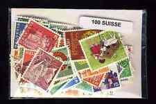 Suisse - Switzerland 100 timbres différents
