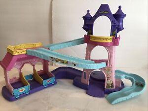 Fisher Price Little People Klip Klop Disney Princess Stable Castle Lights &Sound