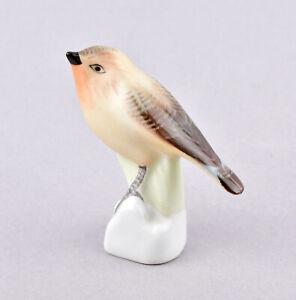 Aquincum Porcelain (Budapest) Bird Figurine - Robin
