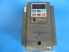 Fuji FVR0.2C9S-2 FVR-C9S Inverter Adjustable Frequency Drive 0.2kW 3P 200-230V