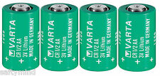 "Brand New ""4"" Varta CR1/2AA 3V Lithium Battery CR14250 LS14250, Made in Germany"