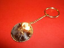 EDWARDIAN BRITANNIA PENNY COIN KEY RING 1902 - 1910 PICK YOUR YEAR
