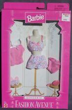 Barbie Lingerie FASHION AVENUE tenue accessoire 1997 Mattel 18092 pyjama été ros