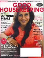 GOOD HOUSEKEEPING Magazine February 2015 Mindy Kaling 20 Minute Meals Soup Stew