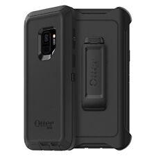 Original Authentic Otterbox Defender Case & Belt Clip Holster Galaxy S9+ Black