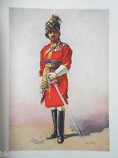 Antiquarian Indian Army Print (1911) 18th King George's Own Lancers/Major Lovett