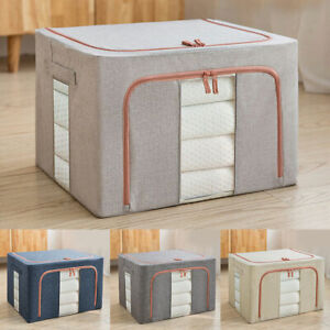 Foldable Storage Boxes Collapsible Box Boxes Home Clothes Organizer Fabric