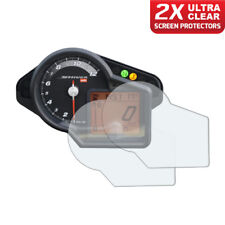2 x Aprilia Shiver 750 Dashboard Screen Protectors: Ultra-Clear