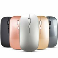 2.4GHz 1600DPI Bluetooth Wireless Optical Mouse Mice USB Receiver for Laptop PC