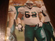 Chris Gray Autograph / Signed 8 X 10 Photo Miami Dolphins