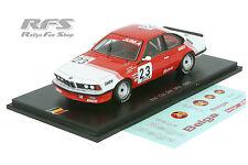 BMW 635 CSi  - Team BELGA - 24 Hours of Spa 1985 - Winkelhock - 1:43 Spark SB066