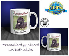Newfoundland Personalised Ceramic Mug: Perfect Gift. (D217)