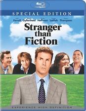 STRANGER THAN FICTION (2006)  WILL FERRELL  DUSTIN HOFFMAN  BLU RAY