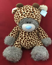 """ME TO YOU BEAR TATTY TEDDY NEW 2017 X-LARGE 24"""" WILDLIFE OUTFIT GIRAFFE GIFT"""