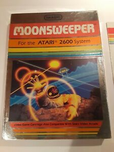 Atari 2600 Moonsweeper CIB TESTED Complete Cart - Manual - Box