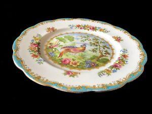 Royal Albert CHELSEA BIRD 18cm Dessert Plate 1st EC c1940's