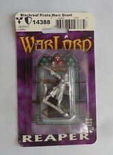 Reaper Miniatures Metal 28 mm escala señor de la guerra Negro arrecife Pirata mercenario Grunt
