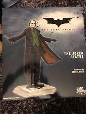NEW The JOKER DARK KNIGHT BATMAN STATUE Heath Ledger Mint in Box! # 1363 of 6000