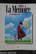 "JAPAN Nadia: The Secret of Blue Water Illustrated ""La Memoire"""