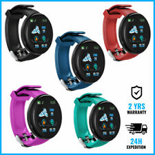 D18 Smart Watch Montre Horloge Bluetooth Android iOS BLACK/GREEN/RED/BLUE/PINK