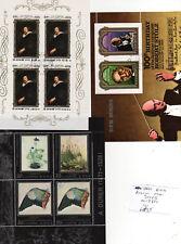 THREE KOREAN MINI SHEETS cc 1980s 6W35