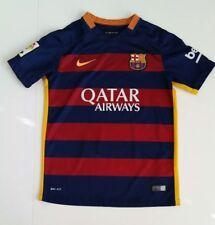 e1fc12ba1 Barcelona Soccer Jersey Nike Authentic 2015 FCB Football Shirt Sz youth med  LFP