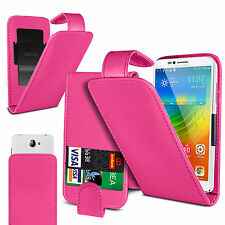 Clip On PU Leather Flip Case Cover Pouch For BQ Aquaris X5