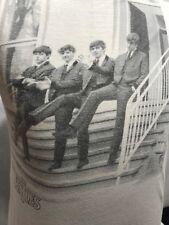 Beatles On Steps / Abbey Road Studios T-Shirt Size Medium Preowned