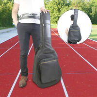 41'' Padded Electric Guitar Bag Case Cover with Double Straps Backpack