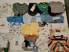 New Baby Boy Size Newborn 0-3 3-6 Months Spring Summer Lot Outfits Sleepers 35pc