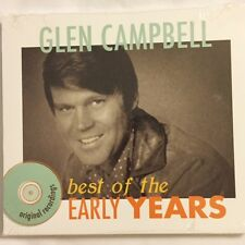 Brand NEW CD - - The Best of the Early Years - - Glen Campbell - - New CD