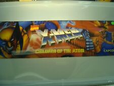 X-Men Children of the Atom Video Arcade Game Marquee, Atlanta #170