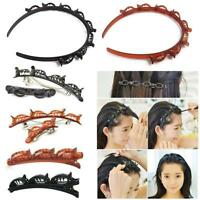 Double Bangs Hairstyle Headband Hairpin Hair Accessories