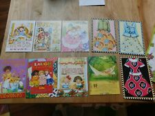 10 Mary Engelbreit Blank Note Cards & Envelopes Friendship All Occasion Themed