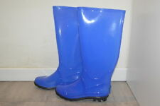 Stivali anti pioggia fosforescenti JUJU at TOPSHOP fluo rainboots wellies 37