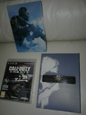 NEW PS3 CALL DUTY DELUXE EDITION GHOST GAME SET WITH PARACORD, STEELBOOK