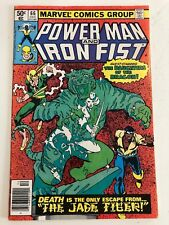 Power Man and Iron Fist #66 2nd appearance of SABRETOOTH VF/FN