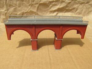 """BRICK"" VIADUCT BRIDGE by VOLLMER ~ Mayhayred Trains N Scale Lot"