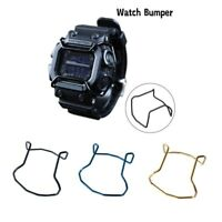 Protector Wire Watch Guard Bumper Stainless Matte For G-Shock GX-56 GXW-56 Bull